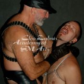 Rigg Daddy, Academy of SM Arts Men's Leathersex Intensive Instructor, has a gripping time with Scratch