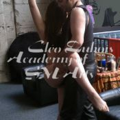Learning how to do suspension bondage at the Academy of SM Arts Men's Intensive